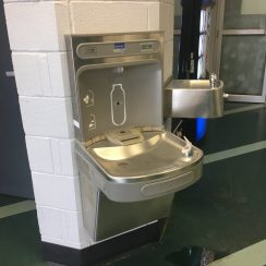 Provide drinking & water stations