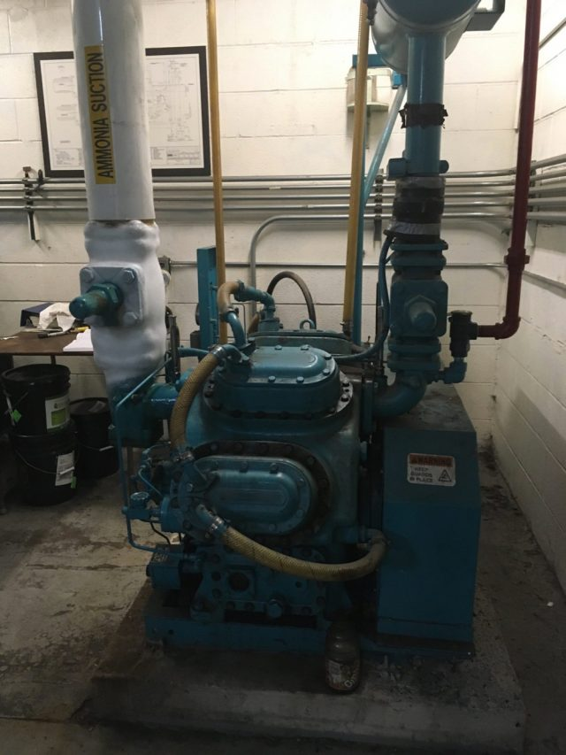 Replace old compressors