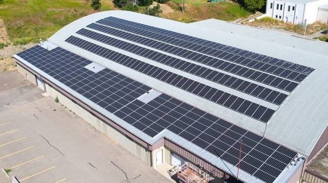 Harvest solar energy to keep the ice in
